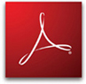 Icon to Adobe Acrobat Reader